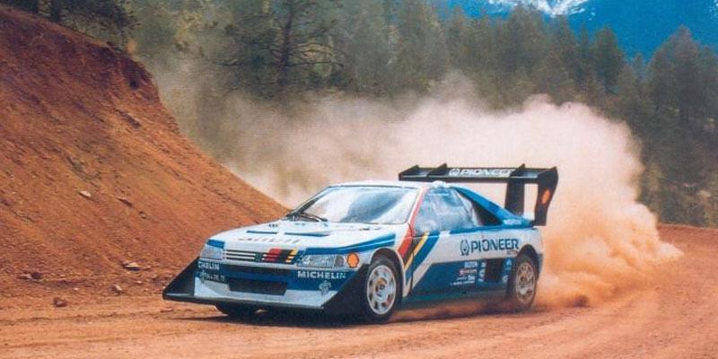 Peugeot 405 T16 Pikes Peak  Rally Group B Shrine