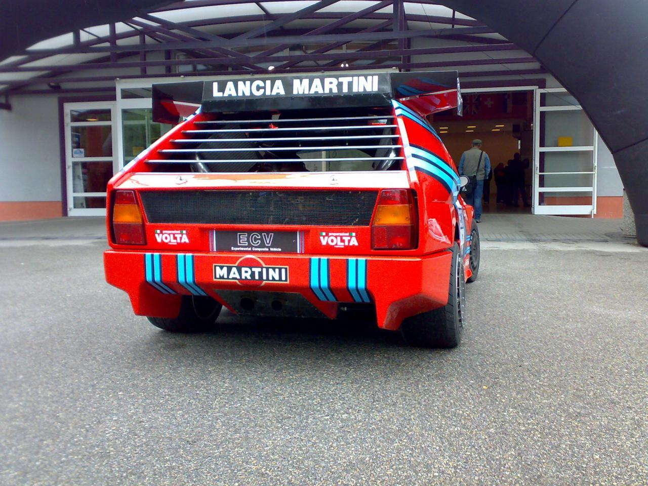 Lancia Ecv Ecv 2 Se042 Group S Prototypes Rally