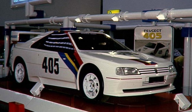 Peugeot 405 Turbo 16 Group S Prototype Rally Group B