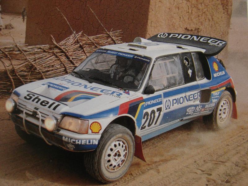 Peugeot 205 T16  U201cgrand Raid U201d Version