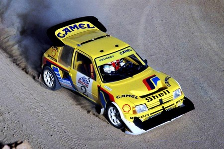 peugeot 205 t16 pikes peak 1987 rally group b shrine. Black Bedroom Furniture Sets. Home Design Ideas